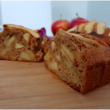 Receta de tarta de manzana para niños