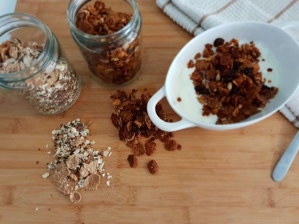 ingredientes receta de granola casera