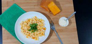 receta risotto de calabaza