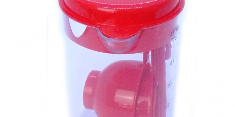 Medidor Rojo