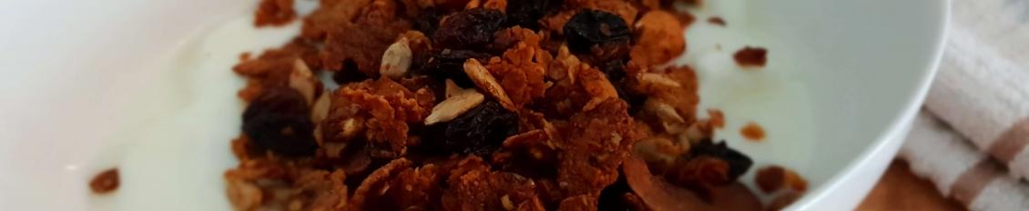 Receta de granola casera